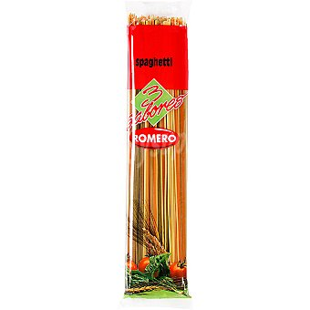 ROMERO espagueti tricolor paquete 250 g