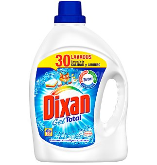 Dixan Detergente en gel azul 30 cacitos 1914 ML
