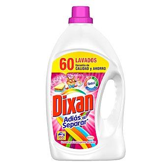 Dixan Detergente gel líquido 60 lavados