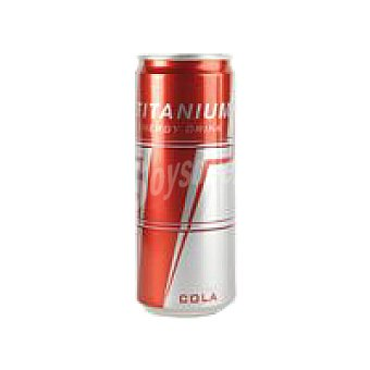 TITANIUM Sleek Refresco energético de cola Lata 33 cl