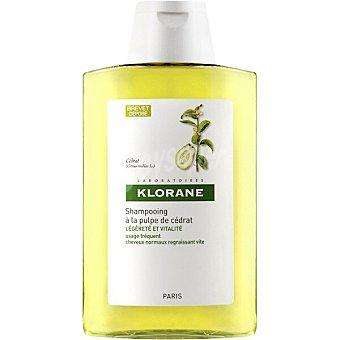 Klorane Champú a la Pulpa de Cidra de uso frecuente para cabellos normales Frasco 400 ml