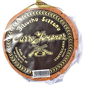 CURRO JIMENEZ Bizcocho pequeño Pieza 500 g