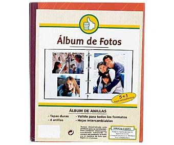 Productos Económicos Alcampo Album de fotos más 6 hojas adhesivas 1 Unidad