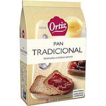 Ortiz Pan tostado normal Paquete 270 g + 20%