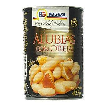 Rogusa Alubias con oreja Bandeja 425 g