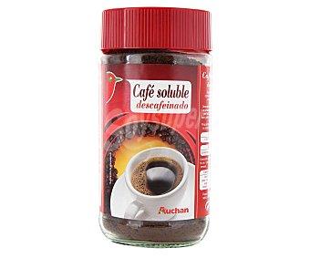 Auchan Café soluble descafeinado 200 gr