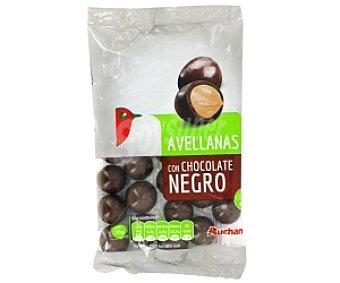 Auchan Grageados avellana chocolate negro 150 Gramos