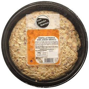 Carrefour Tortilla fresca con jamón 300 g