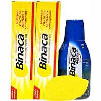 Binaca Dentrìfico Triple Protecciòn Pack + Regalo