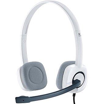Logitech Auriculares estéreo en color blanco H150 1 unidad