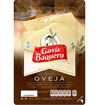García Baquero Queso lonchas oveja 125 G