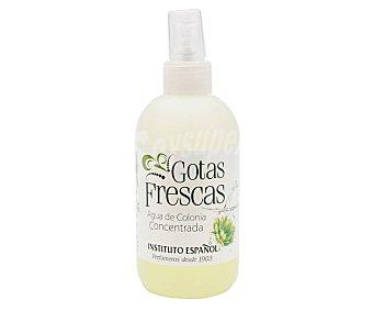 Instituto Español Agua de colonia concentrada con aroma fresco e intenso gotas frescas 250 ml