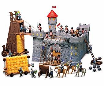 Productos Económicos Alcampo Play Set Gran Castillo Medieval, con Puente Elevadizo 1 unidad