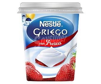 Nestlé Yogur griego con fresas 450 gramos