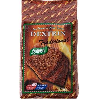 SANTIVERI DEXTRIN Tradicional pan integral de molde tostado Envase 300 g