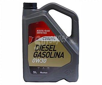 PRODUCTO ALCAMPO Aceite sintético para vehículos con motores gasolina o diésel 5 litros