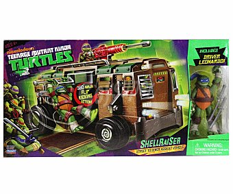SHELL Tmnt - vehículo raiser van + 1 figura exclusiva