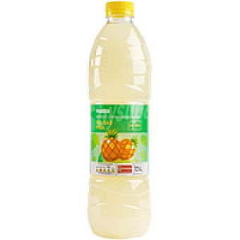 Eroski Refresco de piña sin gas Botella 1,5 litros