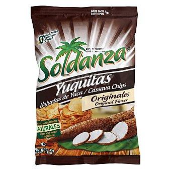 Soldanza Snacks de yuca originales yuquitos 45 g
