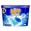 Detergente en cápsulas de gel para lavadora 24 uds Wipp Express