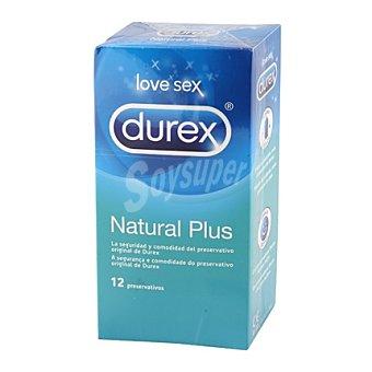 Durex Preservativos Natural Plus 12 ud