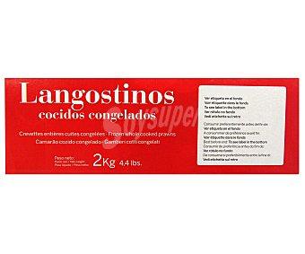 Costasur Langostino Cocido 40/60p 2 Kilogramos