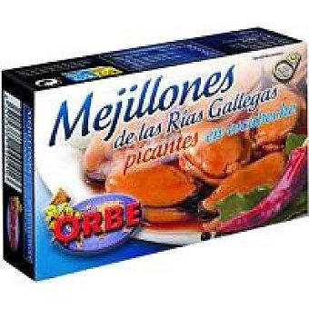 Orbe Mejillón en escabeche picante 20/25 Lata 120 g