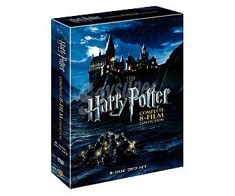 CIENCIA FICCIÓN Colección completa de películas Harry Potter con 8 Dvd's. Género: ciencia ficción. Edad: +7 años