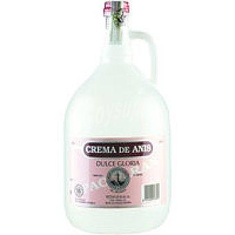 PICUEZO 24º Anís en crema de gloria dulce Botella 3 litro