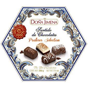 Doña Jimena Surtido de chocolates pralinés Estuche 200 g