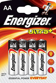 ENERGIZER Ultra+ P. Alc. AA LR6 1,5V 4u 4u