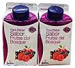 Yogur liquido frutas del bosque Pack 2 x 250 g - 500 g STRELITZIA