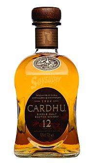 Cardhu 12 Whisky años 70 cl