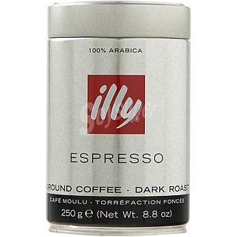 ILLY Café natural molido espreso Lata 250 g