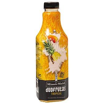 Minute Maid DUOFRUTAS Tropical zumo de frutas y leche desnatada  Botella 1 l