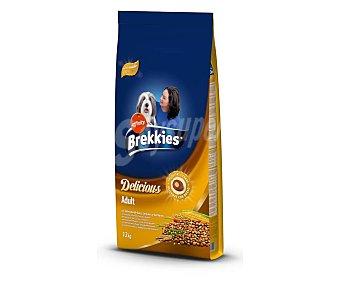 Brekkies Affinity Comida para perro adulto de aves, cereales y verduras Saco 12 kg