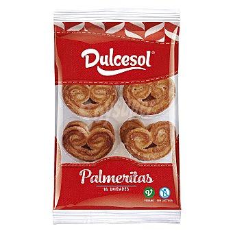 Dulcesol Palmeritas 180 g (16 unidades)