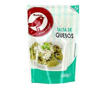 PRODUCTO ALCAMPO Salsa fresca de quesos 140 g