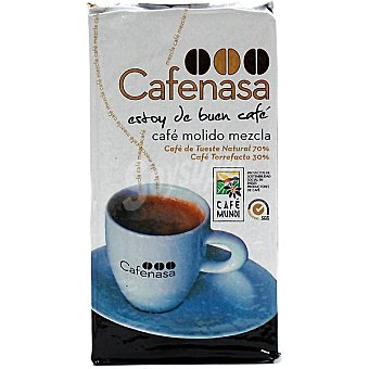 Cafenasa Café molido mezcla 70/30 Paquete 250 g