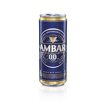 Ambar Cerveza sin alcohol 0,0% 33 cl