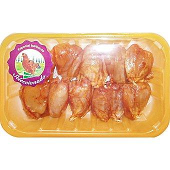 El Corte Inglés Jamoncitos adobados suprema de pollo de corral peso aproximado Bandeja 500 g