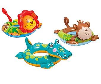 Intex Flotador de varias medidas, con formas de animales y recomendados para niñ@s de 3 a 6 años 1 unidad