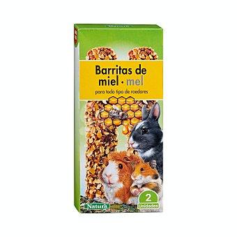 +Natura Comida roedores barrita miel Caja 2 u