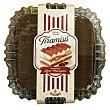 Tarta tiramisu con queso mascarpone 6 raciones (cuadrada) pasteleria congelada, deleites 1 u - 520 g