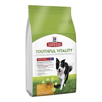 Hill's Science Plan Pienso para perros adultos 7+ medianos Youthful Vitality pollo y arroz 2,5 Kg