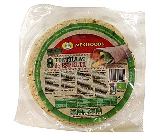 Mexifoods Tortillas de espelta Envase 190 g (8 unidades)