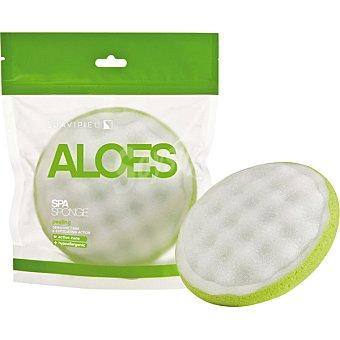 SUAVIPIEL Esponja de baño Aloes Spa bolsa 1 unidad