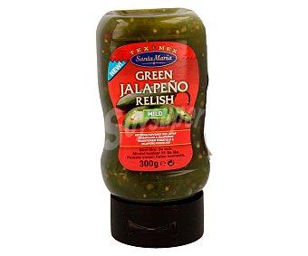 Santa Maria Salsa jalapeño green  Envase 230 g (peso neto)