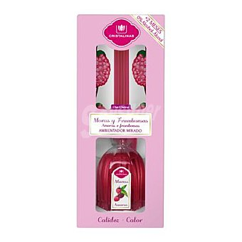 Cristalinas Mikado Ambientador en varillas aromáticas Mora 45 ml