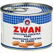 salchichas cóctel lata 120 g ZWAN